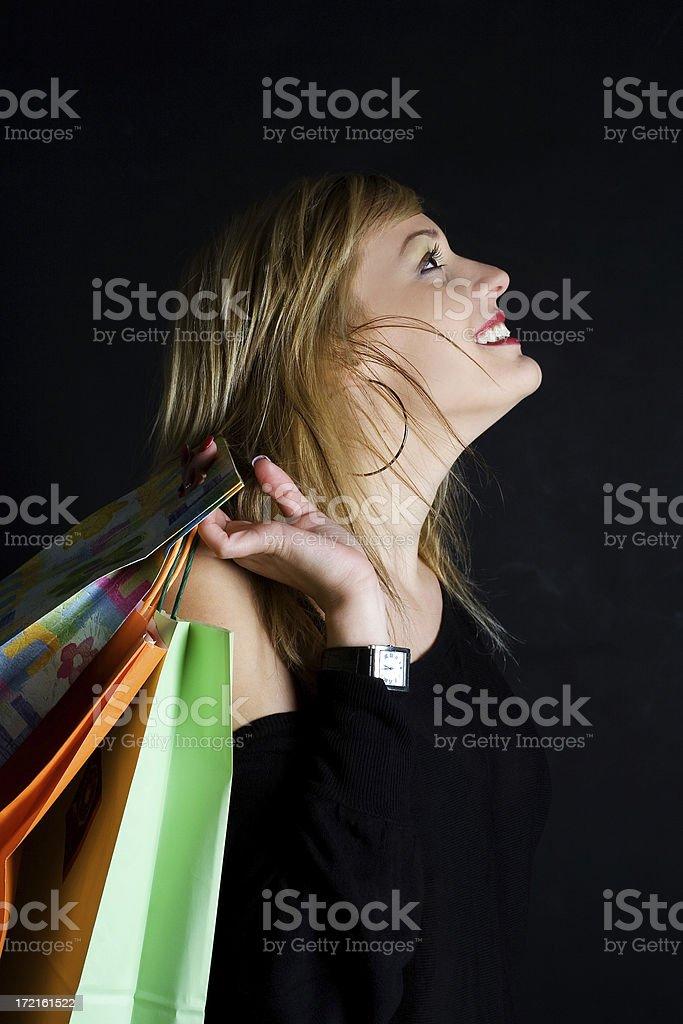 Happy customer royalty-free stock photo