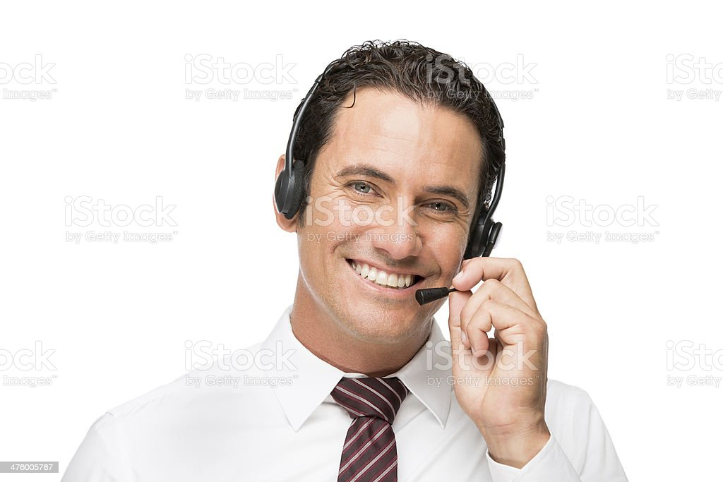 Happy Customer Service Representative Stock Photo  U0026 More Pictures Of 30