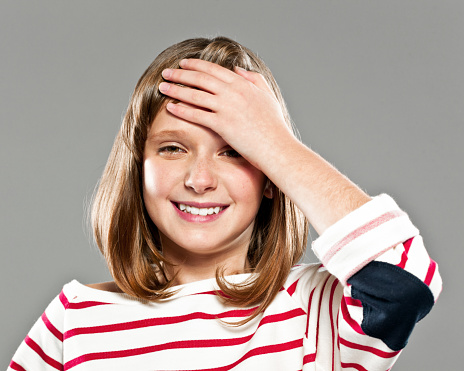 Happy Cute Girl Stock Photo - Download Image Now