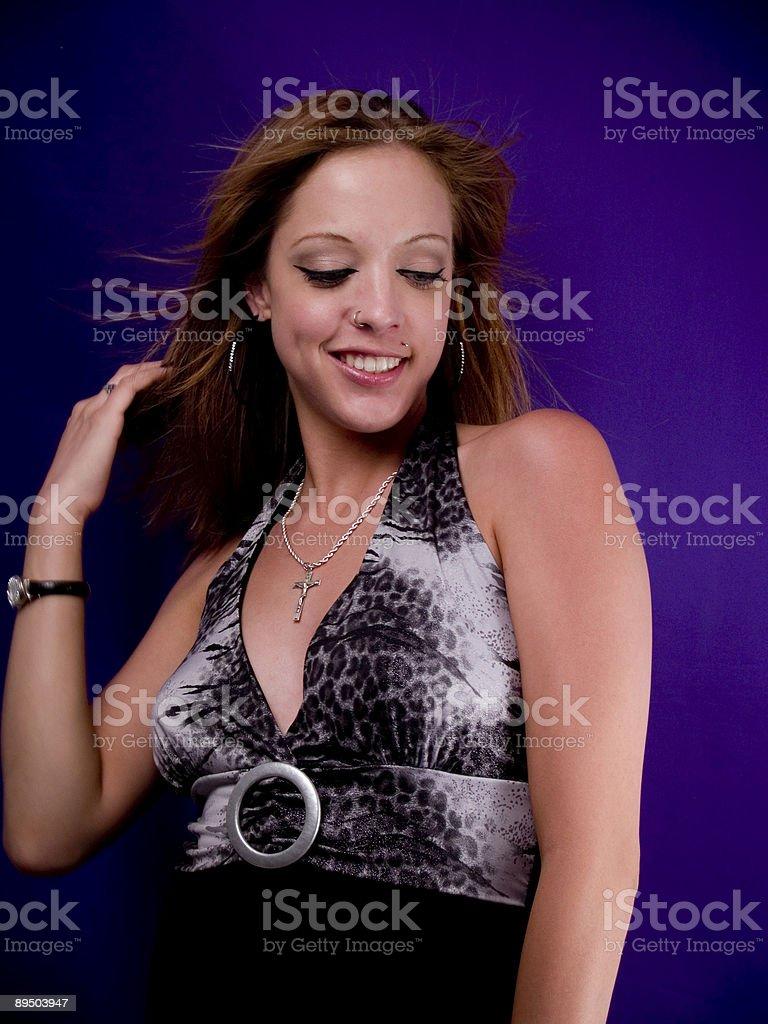 Happy Dance royalty-free stock photo
