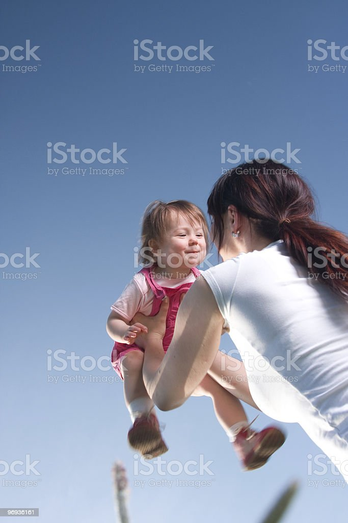 Happy Daughter royalty-free stock photo