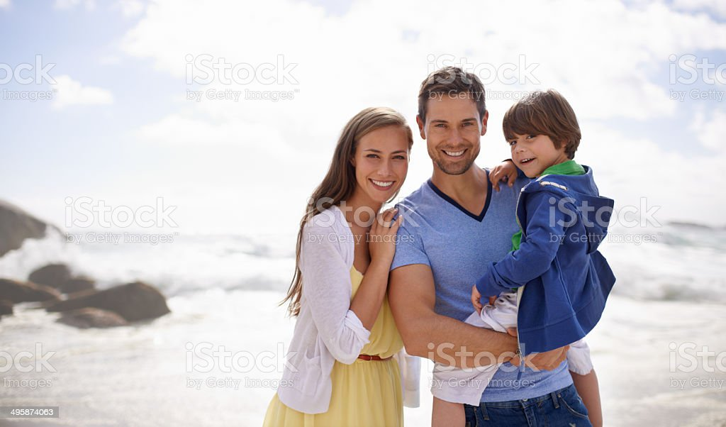 Happy days filled with sunshine stock photo