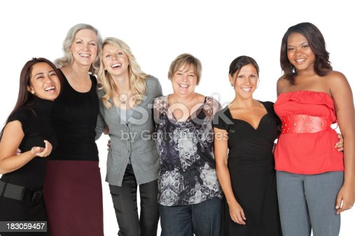 536775759istockphoto Happy Diverse Group of Women Laughing Together 183059457