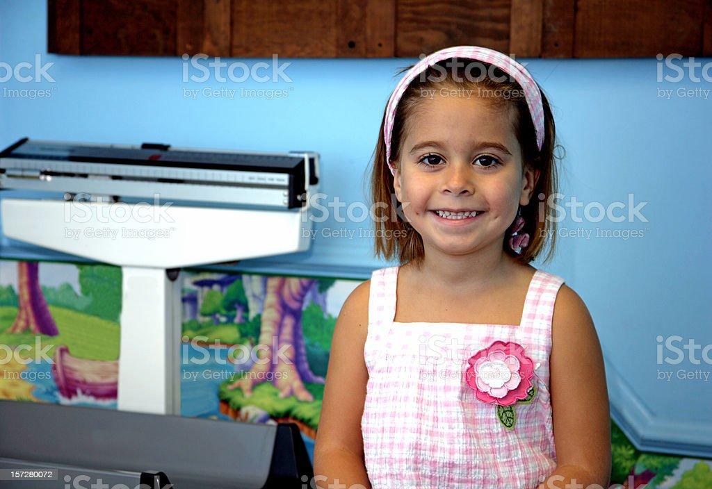 Happy Doctor Visit stock photo