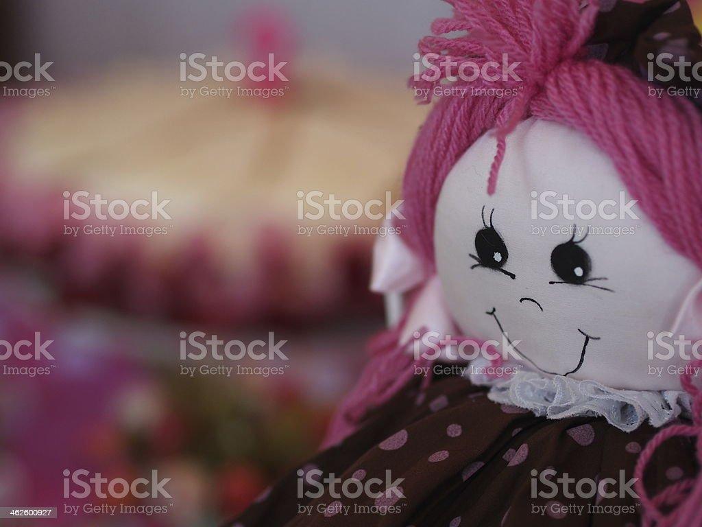 Feliz e o Boneco de bolo - foto de acervo