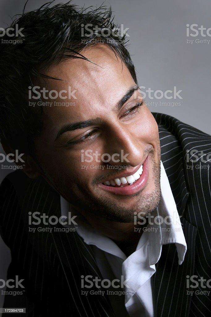 Happy East Indian Male royalty-free stock photo