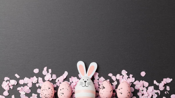 Happy easter background with easter bunny and easter eggs picture id1124292831?b=1&k=6&m=1124292831&s=612x612&w=0&h=qsdevxxkmd58myjwr3qd3o syxkfz w2e0a oecd03c=