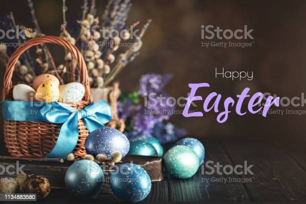 Happy easter congratulatory easter background easter eggs and flowers picture id1134883580?b=1&k=6&m=1134883580&s=612x612&h=y13ubfd9g7uln92wricnl4zrgdfogbdudubtvdwbmys=