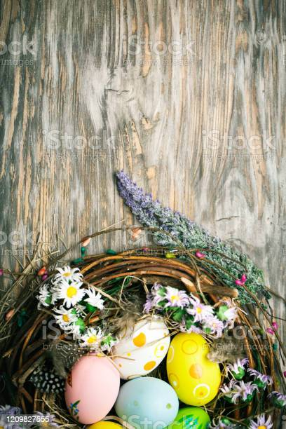 Happy easter congratulatory easter background easter eggs and flowers picture id1209827555?b=1&k=6&m=1209827555&s=612x612&h=khvyxcccyyvsqwbkrepcah3vzcc0bx73d9kxzmyfweq=