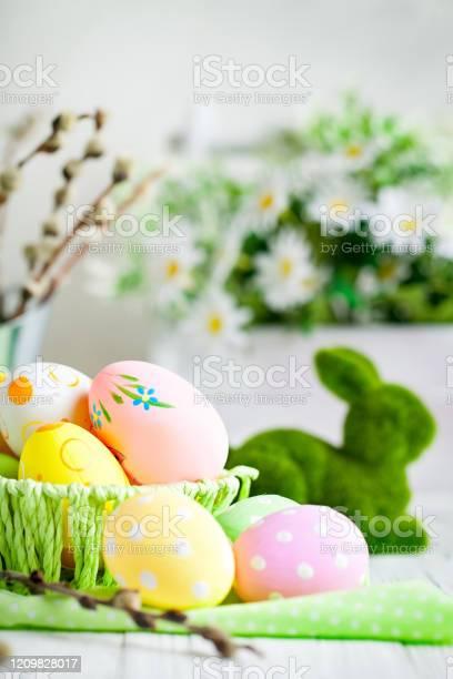 Happy easter congratulatory easter background easter eggs and flowers picture id1209828017?b=1&k=6&m=1209828017&s=612x612&h=xstmfkipj84pvcwtdmuwz4thro8zfksqcvbvo3tiatq=