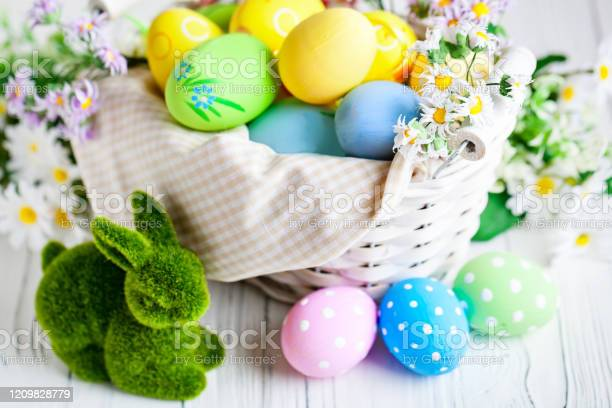 Happy easter congratulatory easter background easter eggs and flowers picture id1209828779?b=1&k=6&m=1209828779&s=612x612&h=nwnupcrsv2hquygkefm0m a1mo9d 01 0rcabzrixis=