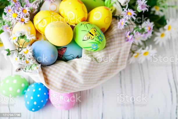 Happy easter congratulatory easter background easter eggs and flowers picture id1212947796?b=1&k=6&m=1212947796&s=612x612&h=mdlnvcicvgmfozgk8fg8teqcdj2ljb9fa hnirrt0mw=