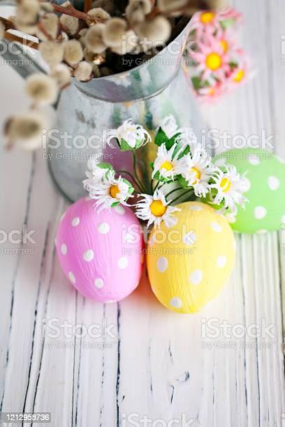 Happy easter congratulatory easter background easter eggs and flowers picture id1212958736?b=1&k=6&m=1212958736&s=612x612&h=a4uhx 9yu3vjtju xzzeqa6u3ogbi6gju jmeroghum=