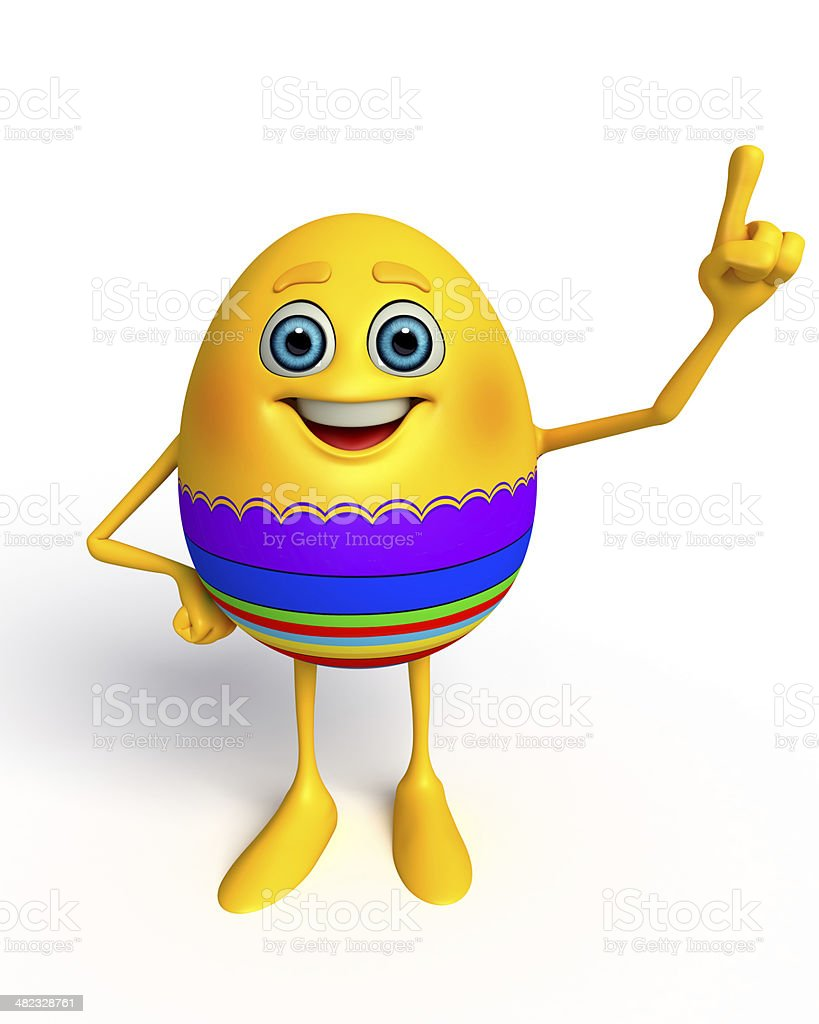 Happy Easter Egg royalty-free stock photo