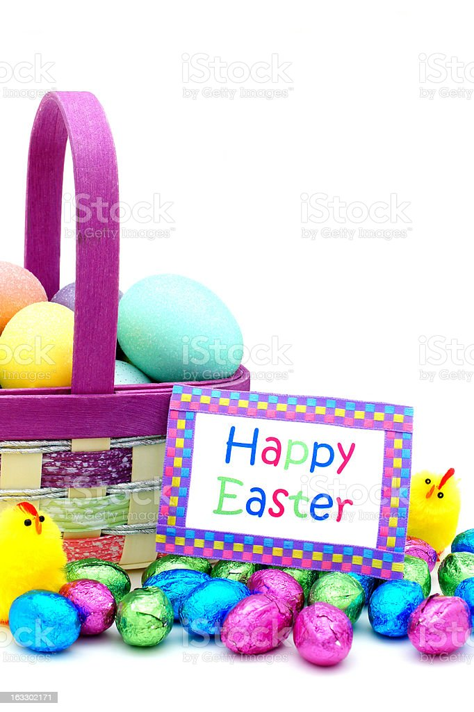 Happy Easter royalty-free stock photo