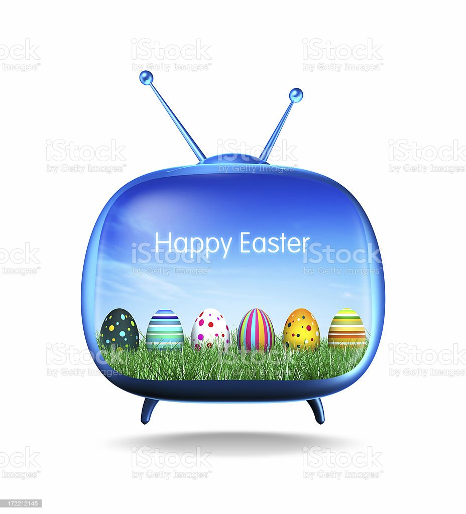 Happy Easter (XL) royalty-free stock photo