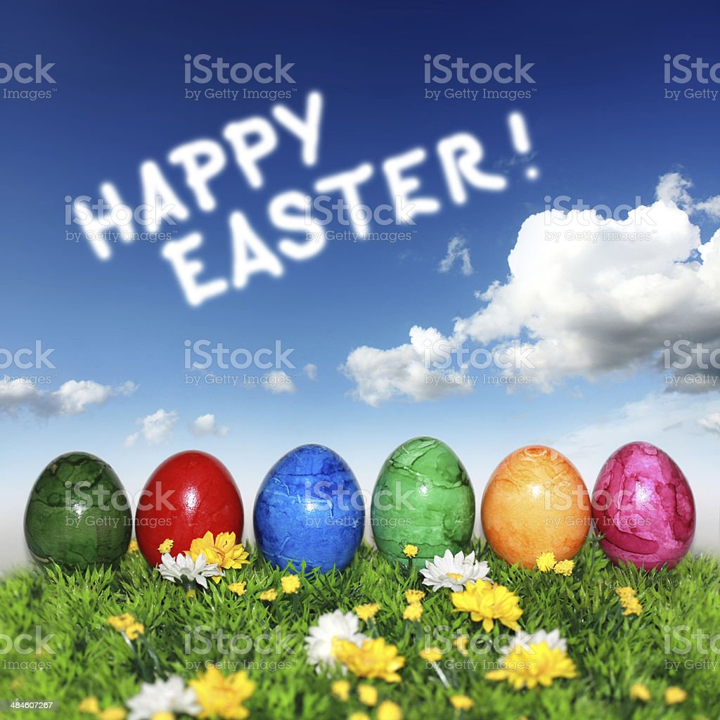 Happy Easter! royalty-free stock photo