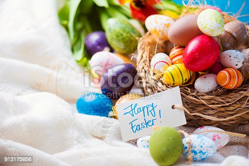 922658520 istock photo Happy Easter 913175656