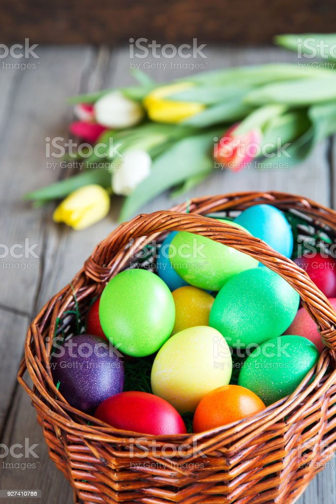 frohe Ostern stock photo