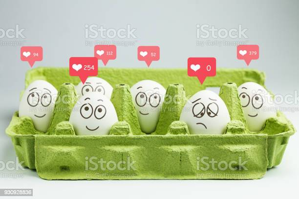 Happy eggs with many likes one sad egg without likes picture id930928836?b=1&k=6&m=930928836&s=612x612&h=xrpvxsx brnubzuuthrpqy3qzq9cnttsrhrvnqksyi4=