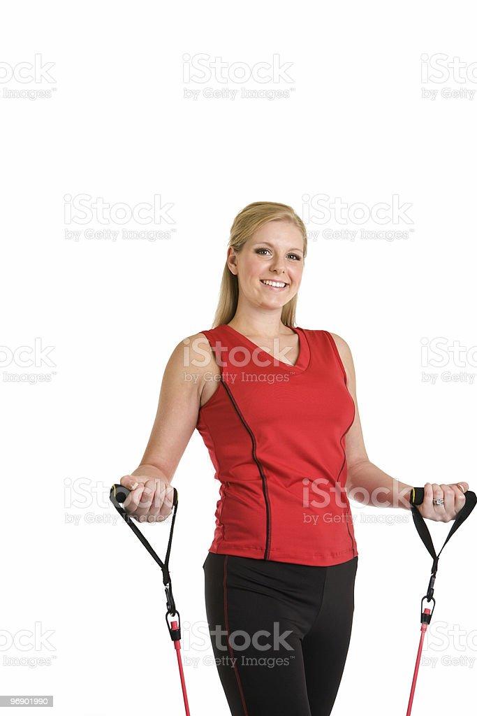 Happy Exercise royalty-free stock photo