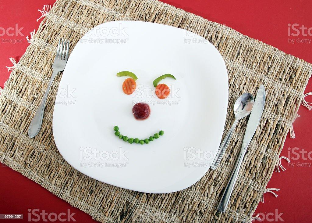 Happy face ! royalty-free stock photo