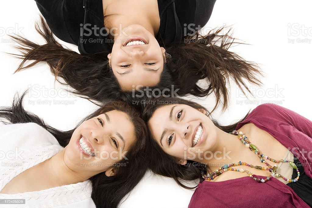 Happy Faces royalty-free stock photo