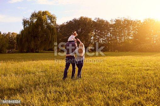 istock Happy family concept. 541849334