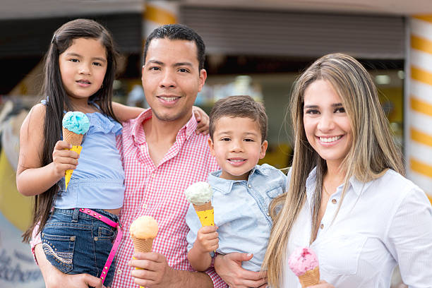 Royalty Free Man Eating Ice Cream Cone Pictures, Images ...