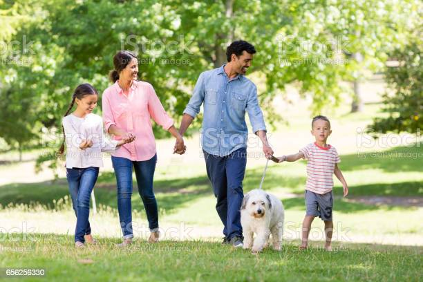 Happy family enjoying together with their pet dog in park picture id656256330?b=1&k=6&m=656256330&s=612x612&h=bony1ruhtq4kg8mhzjgsaeqlgsrzhqw geldqknr11e=