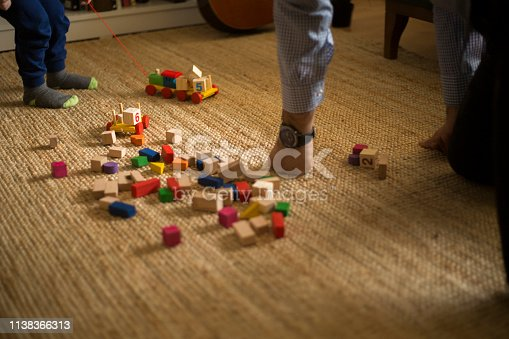 540396126istockphoto Happy family father and child son playing 1138366313