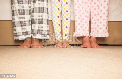 istock Happy Family Feet 451273069