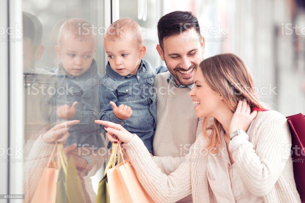 Glückliche Familie in den – Foto