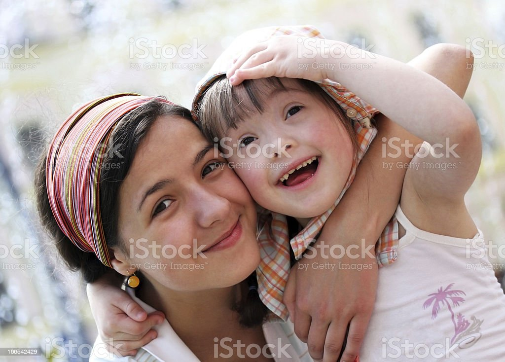 Happy family moments Happy family moments - Mother and child have a fun Adult Stock Photo