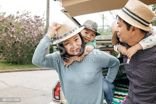 897806552istockphoto Happy family of four 801521030