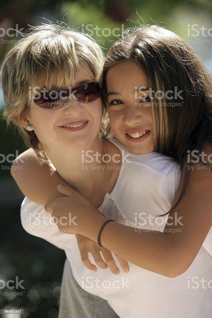Happy family on a sunny day - Royalty-free Adult Stock Photo