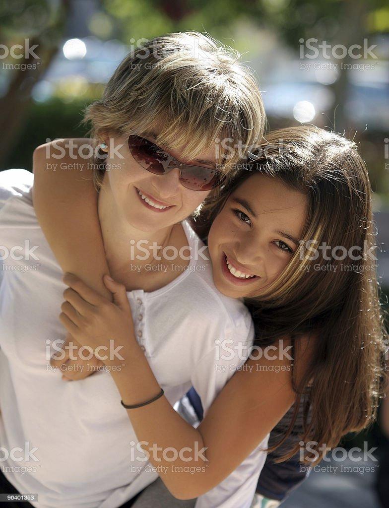 Happy family on a sunny day - Royalty-free Adolescence Stock Photo
