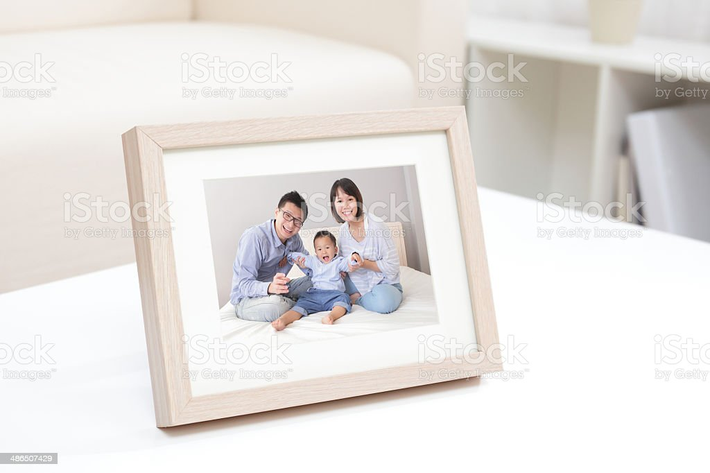 Happy Family photo stock photo