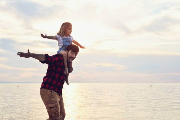 Família feliz - foto de acervo