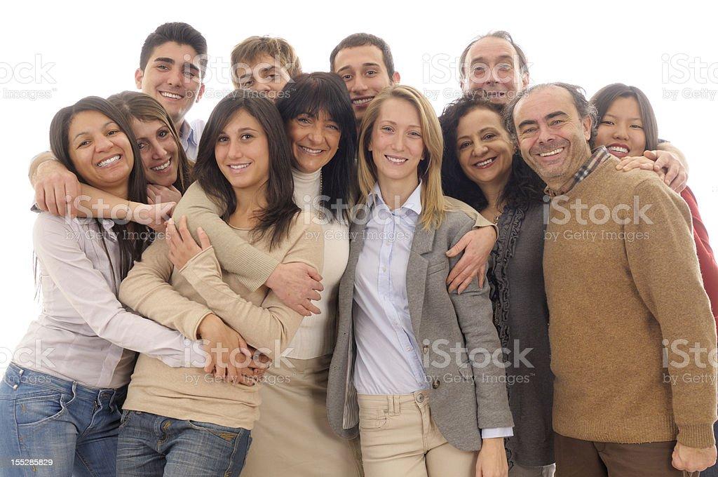 Happy family. stock photo