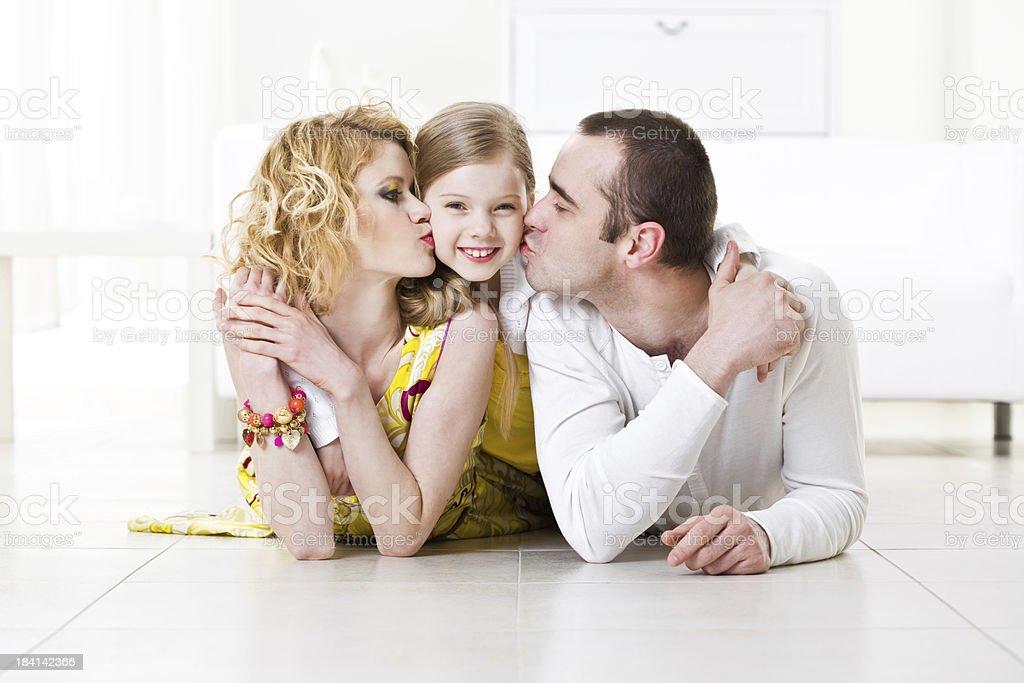 Glückliche Familie – Foto