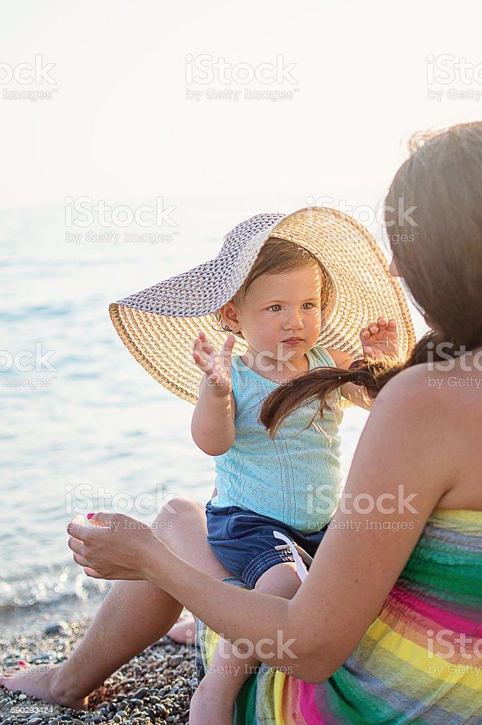 Happy family royaltyfri bildbanksbilder