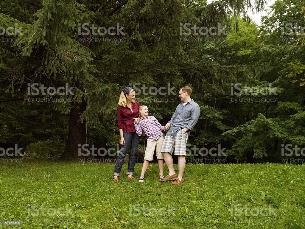 행복함 가족 royalty-free 스톡 사진