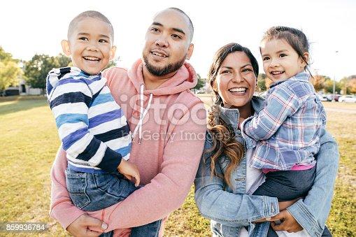istock Happy family 859936784