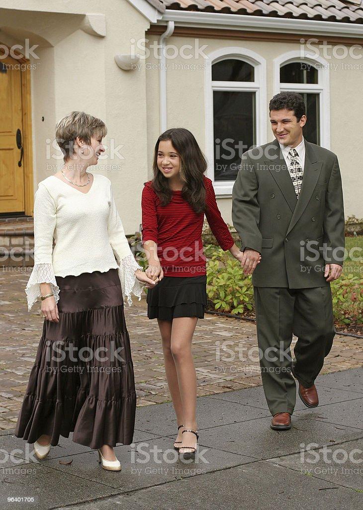 Happy family - Royalty-free Adult Stock Photo