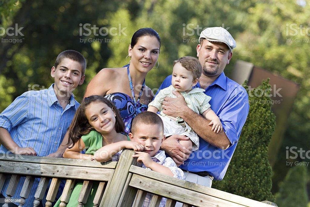 Famiglia felice foto stock royalty-free