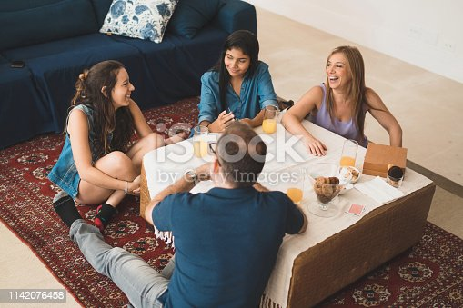 Leisure Games, People, Playing, Mature Adult, Domestic Life