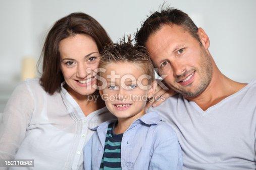 istock Happy family portrait 152110542