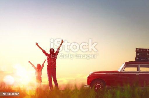 istock Happy family relaxing 531314652