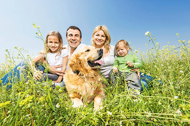 Happy family with a golden retriever picture id472181543?b=1&k=6&m=472181543&s=612x612&w=0&h=y2bj4n1jkbfo3catrzqc1s2qeayb0laub8t10ou3bs4=